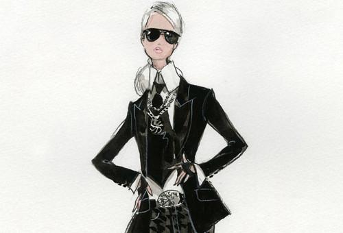 Barbie® Lagerfeld