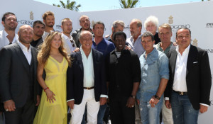 The Expendables 3 - cast with Fawaz Gruosi