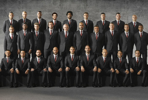 Armani's Bayern Monaco