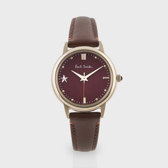 Paul Smith Women's Red Little Star Watch