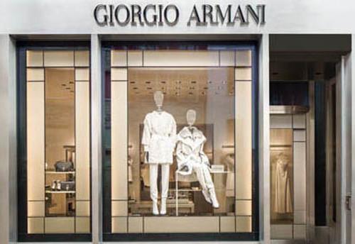 St. Moritz, the first Giorgio Armani boutique