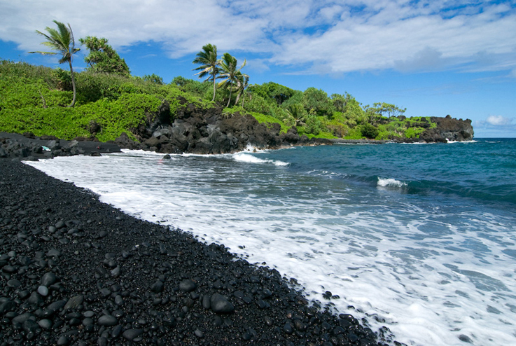 10 of the most colorful beaches in the world bookmoda for How many black sand beaches in the world