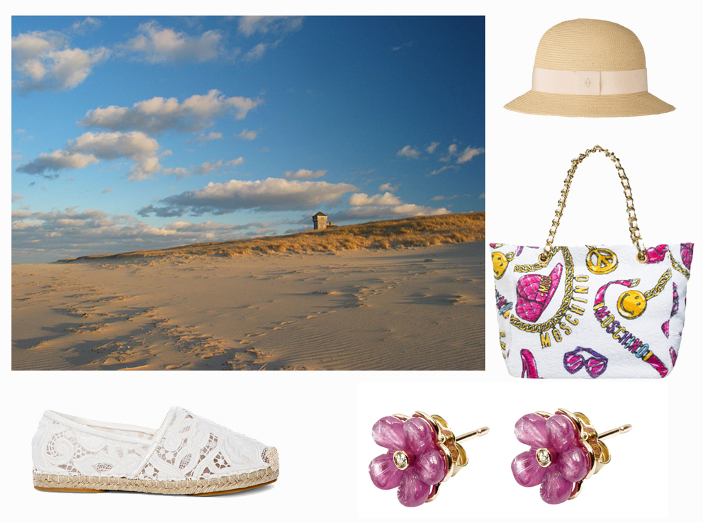 Ermanno Scervino shoes, Salvatore Ferragamo earrings, Moschino bag, Hermès hat.  Ph. Daniel Schwen