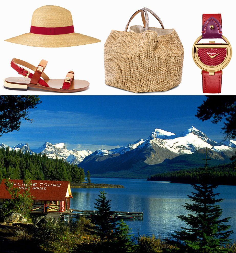 Hermès hat, L'Autre Chose shoes, Ermanno Scervino bag, Salvatore Ferragamo watch. Ph. Christianabend released it in Wikimedia commons on 2007.