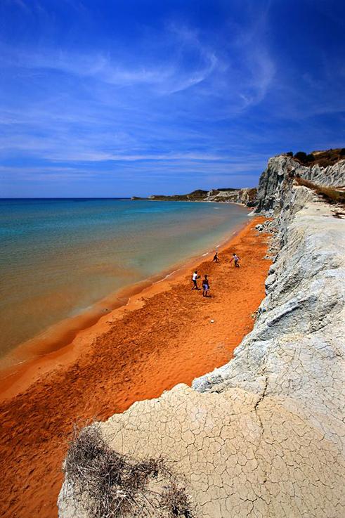Spiaggia di Xi, Kefalonia - Grecia.