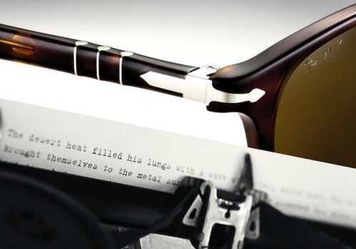 Persol presenta una nuova capsule collection dal gusto vintage: la Typewriter Edition