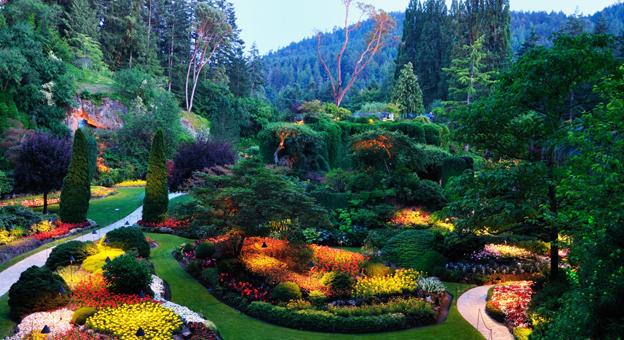 I giardini pi belli del mondo bookmoda - Giardini bellissimi ...
