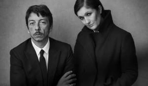 Pierpaolo Piccioli Maria Grazia Chiuri, Valentino Creative Directors - ph. Lindbergh