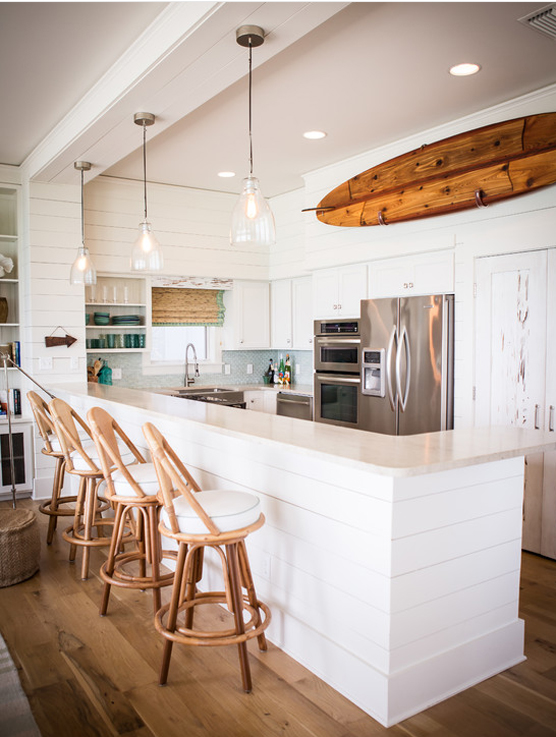 24 idee per arredare la casa al mare bookmoda for Idee design casa