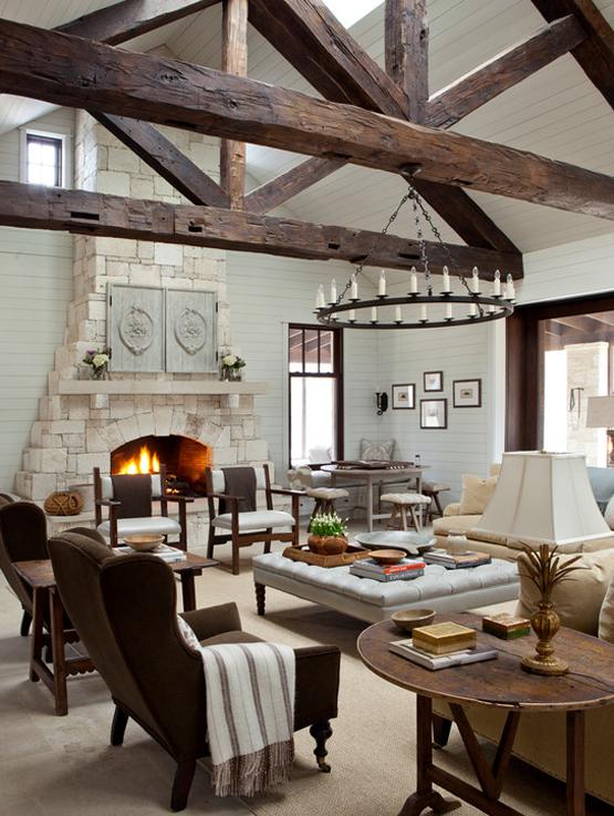 24 idee per la casa in campagna bookmoda - Idee in casa ...