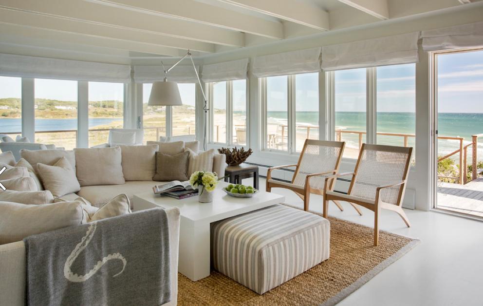 24 idee per arredare la casa al mare bookmoda for Idee interior design