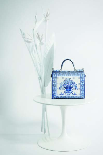 "Dolce & Gabbana ""Sicily"" bag from Maiolica collection."