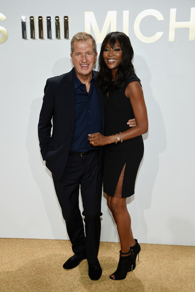 Mario Testino e Naomi Campbell Photo Credit - Getty Images for Michael Kors