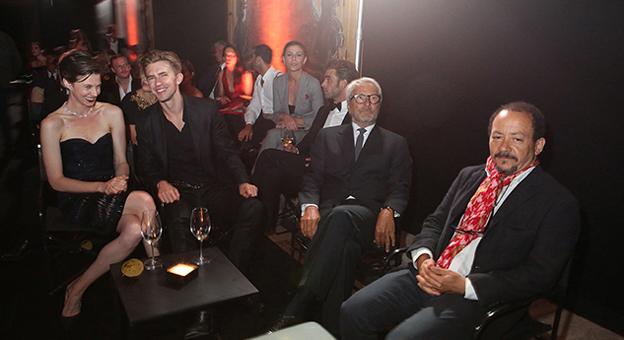 Elettra Wiedemann, Caleb Lane, Roberto Ciccuto, Alessandro Rossellini.