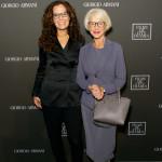 Alla cena: Roberta Armani e Dame Helen Mirren