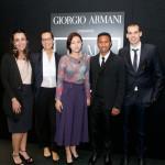 Alla proiezione: Juliana Valente, Roberta Armani, Go Eun Kim, Chris Joys e Tommaso Bianchi