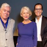 Alla proiezione: Tim Blanks, Dame Helen Mirren e Roberta Armani