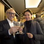 Roberto Coin e Francesca Rebecchini;