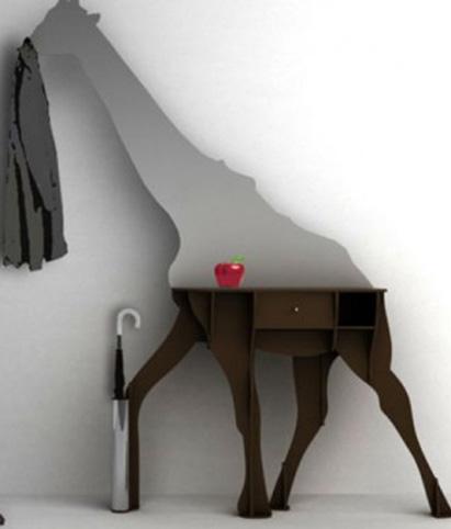 mobile-ingresso-design Vanessa Moreno specchiera, attaccapanni e ...