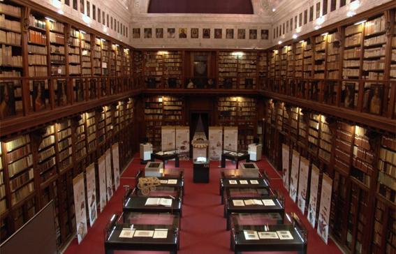 La Biblioteca Ambrisiana, Milano, © Dicemilano2015
