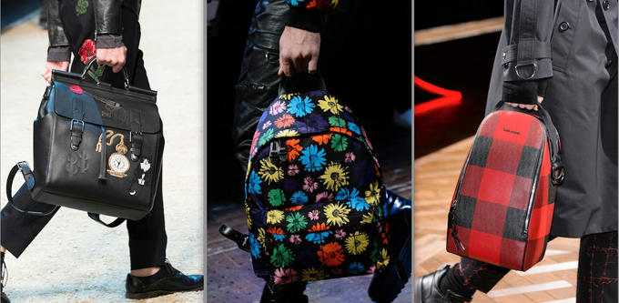 Da sinistra, Dolce&Gabbana, Moschino, Dior Homme F/W 2016-17