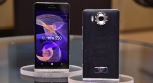 Cover Damiani e lo smartphone Lumia 950 di Microsoft foto 2