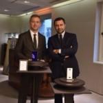 Giorgio Damiani, Vice Presidente del Gruppo Damiani e Carlo Purassanta, AD di Microsoft Italia