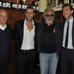 Antonio Percassi, Philipp Plein, Flavio Briatore, Ennio Fontana