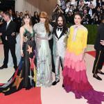Dakota Johnson, Florence Welch, Alessandro Michele e Charlotte Casiraghi in Gucci (Photo by Venturelli/FilmMagic)