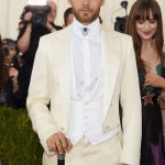Jared Leto in Gucci (Photo by Jamie McCarthy/FilmMagic)