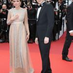 Total look di Ermenegildo Zegna anche per il regista e sceneggiatore ungherese László Nemes.