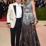 Tommy Hilfiger e Dee Ocleppo. (Photo by Dimitrios Kambouris/Getty Images)