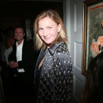 Elizabeth Von Guttman attends the Dior Cruise Collection 2017 dinner and afterparty at Loulou's in London (Photo by Victor Boyko/Getty Images for Dior)