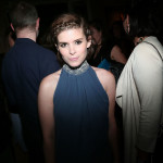 Kate Mara attends the Dior Cruise Collection 2017 dinner and afterparty at Loulou's in London (Photo by Victor Boyko/Getty Images for Dior)