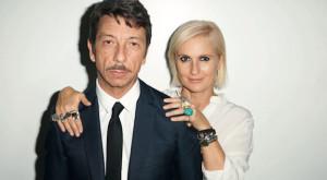 Maria Grazia Chiuri&Pierpaolo Piccioli by T. Richardson