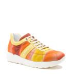 a.testoni - sneaker ultra leggera color pompelmo