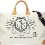 """Bonfanti: weekend bag grande appartenente alla collezione Regata, con stampa """"Regata Antiche Repubbliche Marinare""""."""