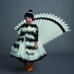 Maëlie vest, Monnalisa sweater, Armani Junior dress, Mi.Mi.Sol by Imelde Bronzieri underskirt, Simonetta hat.