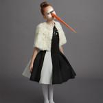 Mi.Mi.Sol by Imelde Bronzieri cape, Monnalisa Couture dress.