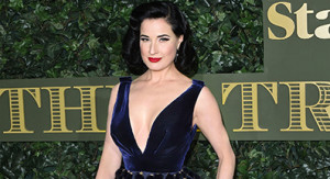 Mandatory Credit: Photo by David Fisher/REX/Shutterstock (7431768en) Dita Von Teese Evening Standard Theatre Awards, The Old Vic, London, UK - 13 Nov 2016