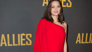 "PARIS, FRANCE - NOVEMBER 20:  Actress Marion Cotillard attends the ""Allied - Allies""- Paris Premiere at Cinema UGC Normandie on November 20, 2016 in Paris, France.  (Photo by Stephane Cardinale - Corbis/Corbis via Getty Images)"