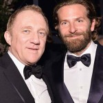 LOS ANGELES, CA - OCTOBER 29:  CEO of Kering Francois-Henri Pinault (L) and actor Bradley Cooper, wearing Gucci, attend the 2016 LACMA Art + Film Gala Honoring Robert Irwin and Kathryn Bigelow Presented By Gucci at LACMA on October 29, 2016 in Los Angeles, California.  (Photo by Stefanie Keenan/Getty Images for LACMA)