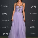 LOS ANGELES, CA - OCTOBER 29:  Alessandra Ambrosio attends the 2016 LACMA Art + Film Gala Honoring Robert Irwin and Kathryn Bigelow Presented By Gucci at LACMA on October 29, 2016 in Los Angeles, California.  (Photo by Venturelli/Getty Images for LACMA)