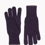 Brunello Cucinelli - Morbido guanto in maglia di puro cashmere con polso a lavorazione a coste.