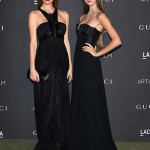 LOS ANGELES, CA - OCTOBER 29:  Carolina Parsons and Helena Gatsby attend the 2016 LACMA Art + Film Gala Honoring Robert Irwin and Kathryn Bigelow Presented By Gucci at LACMA on October 29, 2016 in Los Angeles, California.  (Photo by Venturelli/Getty Images for LACMA)