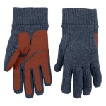 Dainese - I guanti Douglas Gloves confezionati in misto lana si caratterizzano per il palmo rinforzato in pelle di capra.