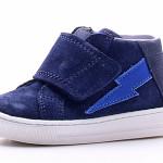Falcotto - Sneaker da bimbo in suede con chiusura in velcro