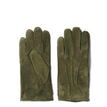 Gant - Guanti di camoscio in 100% vera pelle con una calda fodera in lana, mano morbidissima e il logo impresso.