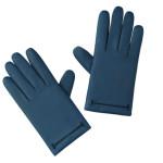 Hermès - Guanti in agnello opaco con la fodera in cachemire e piqué inglese. I guanti sono inoltre compatibili con l'utilizzo di schermi tattili.