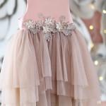 Little Miss Aoki - Abitino in rosa confetto con gonna in tulle della collezione speciale Xmas Holiday